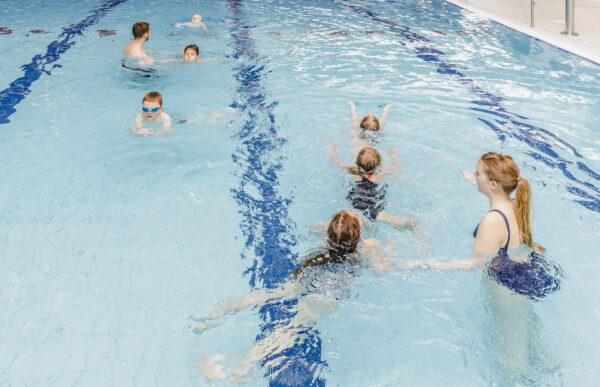 Anfängerkurs für Kinder von fünf bis sechs Jahren Leo-Vetter-Bad