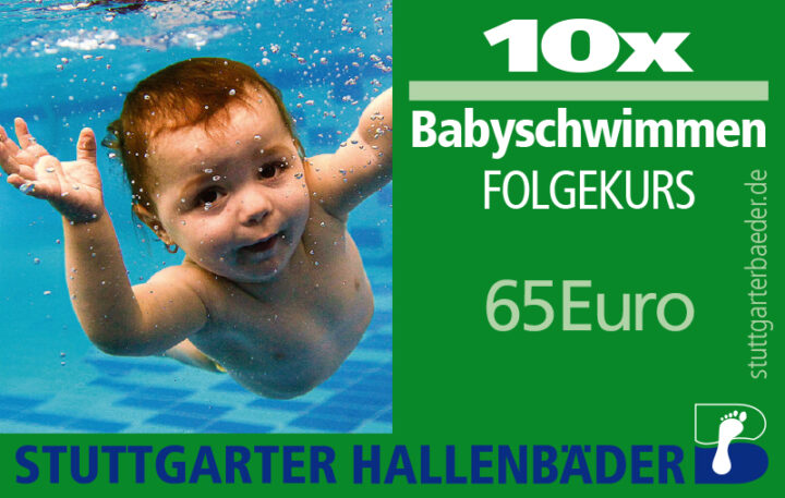 10er-Karte Babyschwimmen